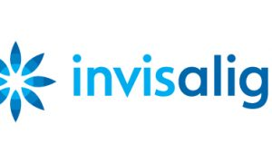 invisalign logo on white background