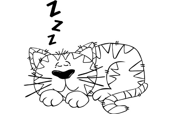 cat-snoring-cartoon