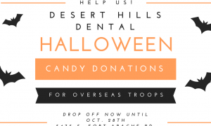 Desert Hills Dental Candy Drive